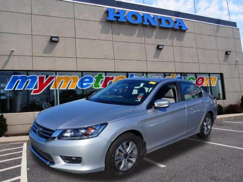 Certified Pre-Owned 2014 Honda Accord 4dr I4 CVT LX FWD LX 4dr Sedan CVT