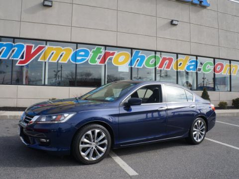 Certified Pre-Owned 2014 Honda Accord 4dr I4 CVT Sport FWD 4dr Car